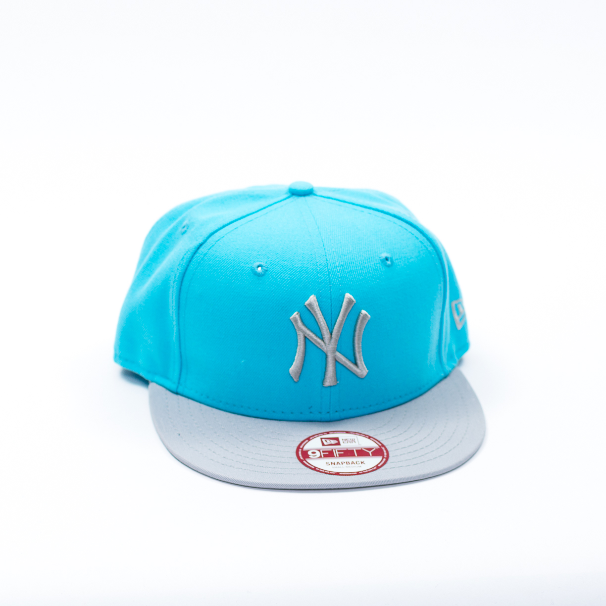 CAPPELLO NEW ERA MULTICOLOR AZZURRO VISIERA NY