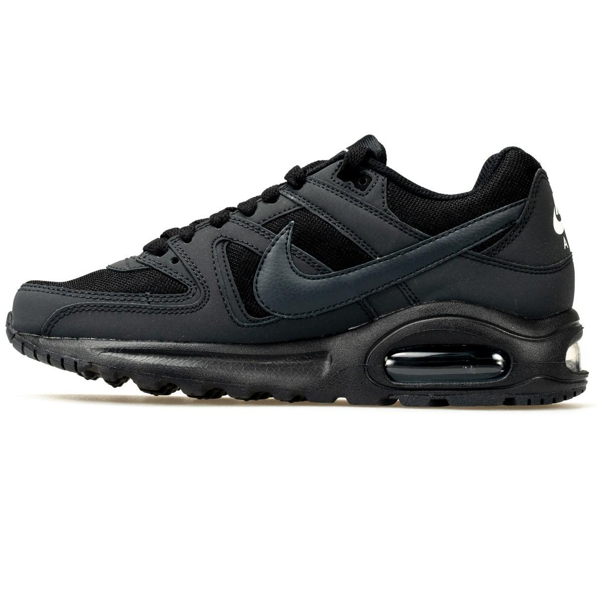 Max Flex Nike Scarpa Air gs 844346 002 Black Command Uomo x1X16nt