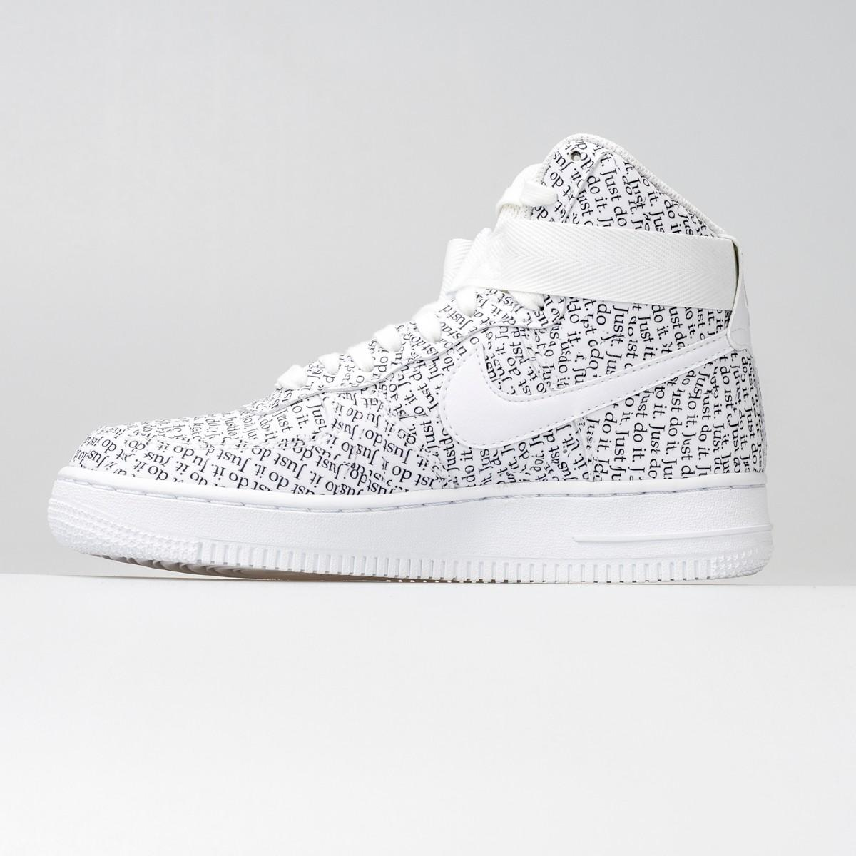 nike air force 1 con scritte