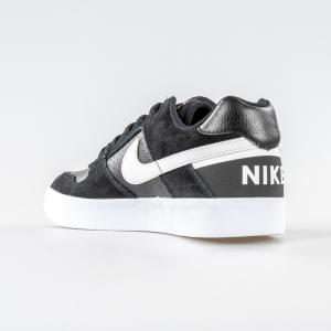 SCARPA UOMO NIKE SB DELTA FORCE VULC 942237 010 BLACK WHITE