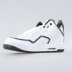 SCARPA UOMO NIKE JORDAN SCARPA COURTSIDE 23 (GS) WHITE BLACK